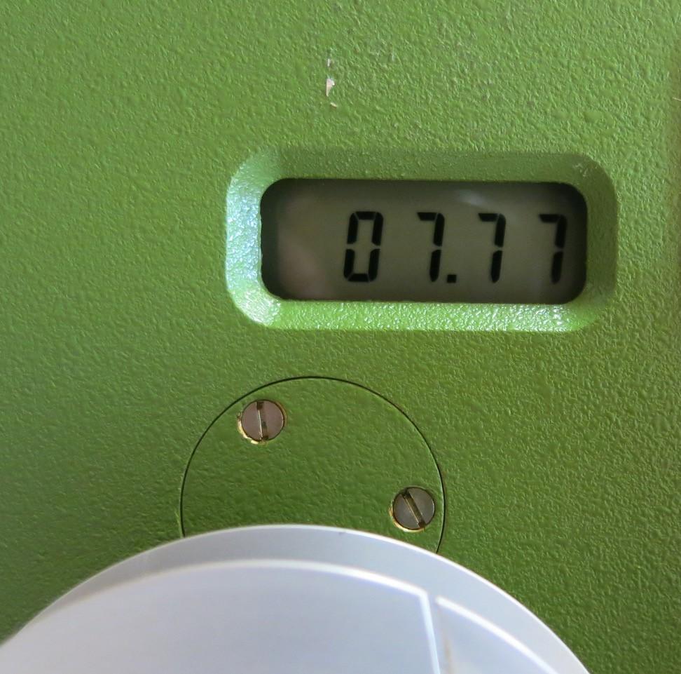 wasserstand 7.77